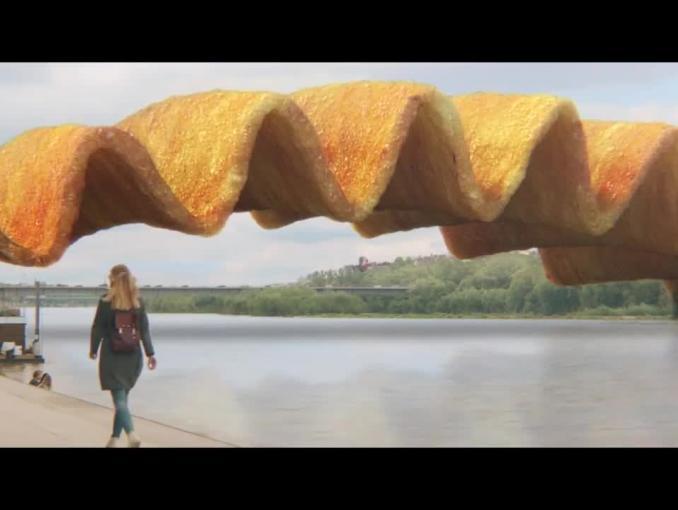 Wszędzie widzisz jedzenie - reklama Lay's Maxxx