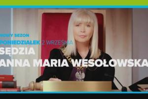"""""""Sędzia Anna Maria Wesołowska"""" w TTV od poniedziałku do czwartku"""