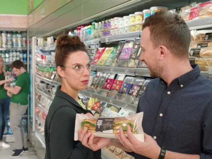 """""""Ożeń się z Żabką"""" - reklama sklepu Żabka"""