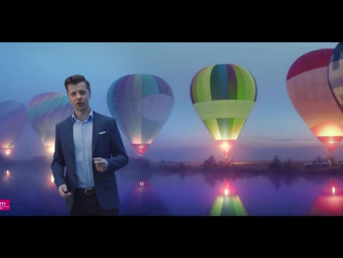 Konto 360 w Banku Millennium - reklama z Radosławem Kotarskim