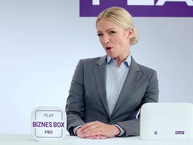 Zbigniew Boniek reklamuje Biznes Box Pro w Play dla firm