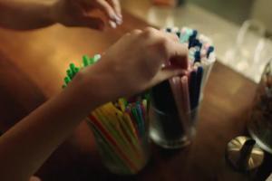 Mniej plastiku w sklepach Lidl - reklama