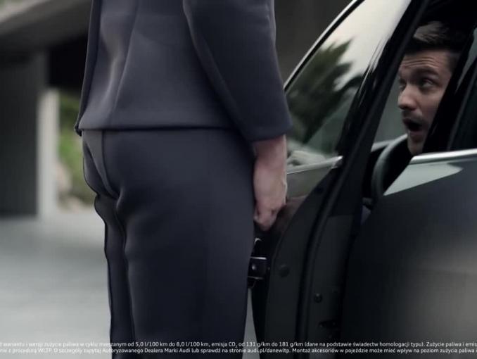 Nieprzyjazny inteligentny asystent w spocie Audi A4