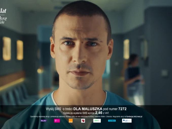 """Akcja charytatywna z okazji 20-lecia emisji serialu """"Na dobre i na złe"""" (wideo)"""