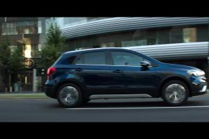 Suzuki reklamuje crossovera SX4