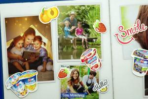 Jogobella - reklama jogurtów