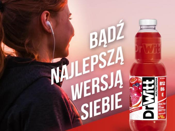 """DrWitt """"Bądź Najlepszą wersją siebie!"""" - bieganie"""
