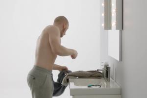 Gimper w reklamie Wilkinson Sword