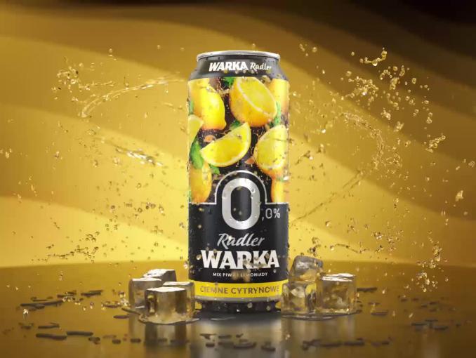 Maciej Maleńczuk znów reklamuje piwo Warka Radler 0,0%