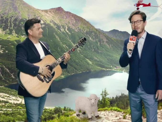 Zenek Martyniuk reklamuje MediaMarkt