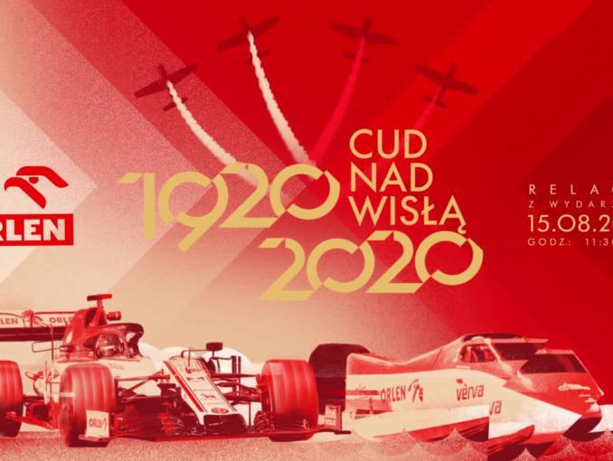 Wyścig Roberta Kubicy i Bartosz Marszałka w ramach obchodów 100-lecia Bity Warszawskiej