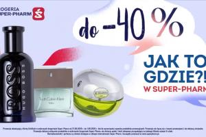 Super-Pharm reklamuje ofertę perfum