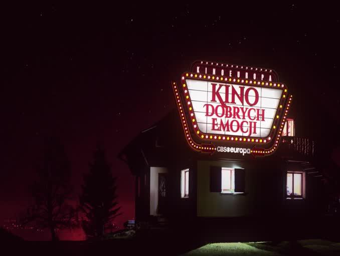 """CBS Europa z nową oprawą. """"Kino dobrych emocji"""" hasłem stacji (wideo)"""