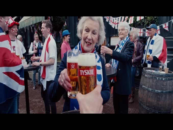 Polacy Mistrzami Europy w nowej kampanii Tyskiego