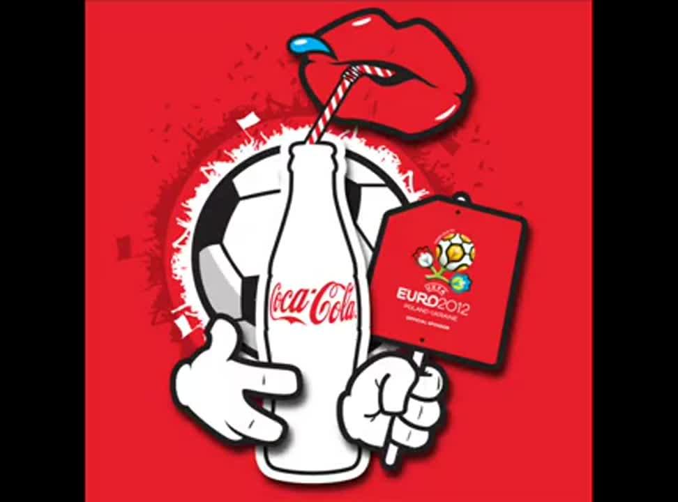 Lets go crazy - piosenka Coca Coli na Euro 2012
