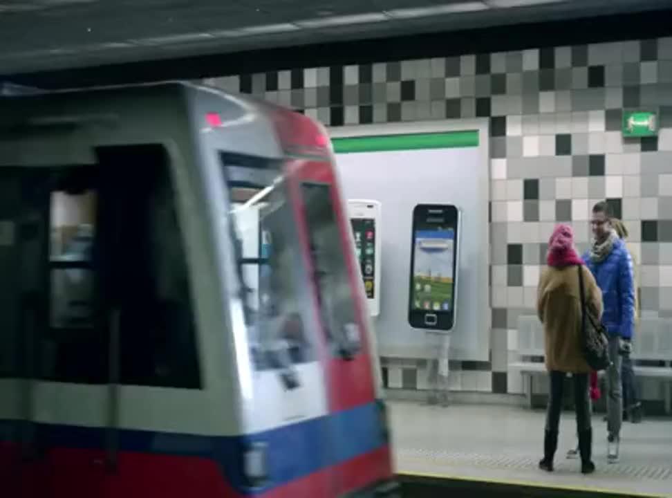 T-Mobile - reklama smartfonow