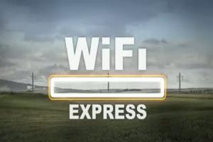 ING Bank Sląski - reklama konta w WiFi Expressie
