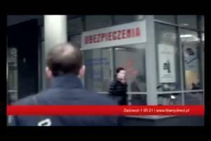 Liberty Direct - reklama z agentami
