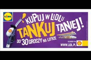 Lidl - reklama promocji z Shell