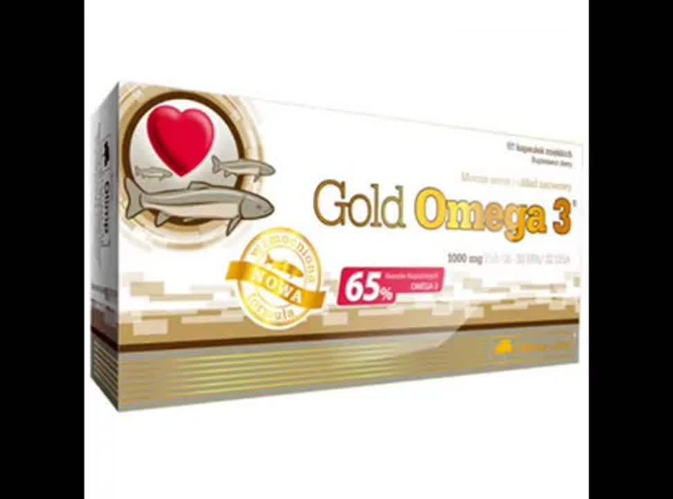 Olimp Gold Omega 3 - reklama