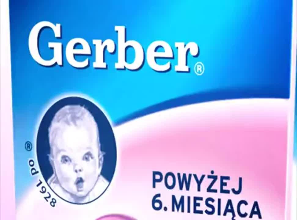 reklama mleka następnego Gerber