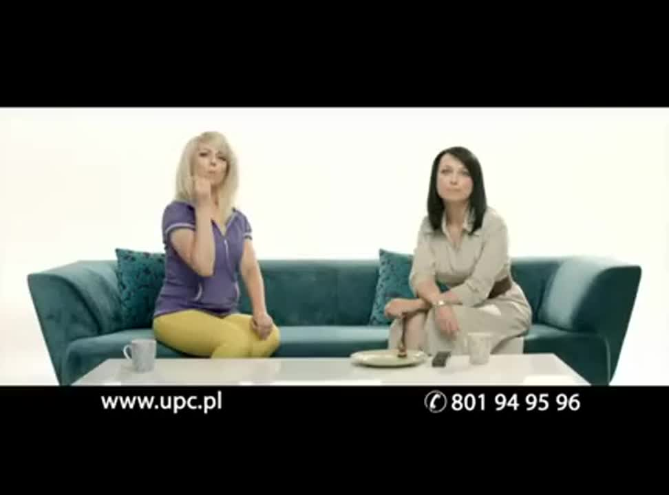 UPC na zadanie - reklama z Katarzyna Pakosinska