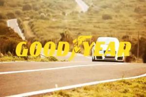 reklama opon Goodyear