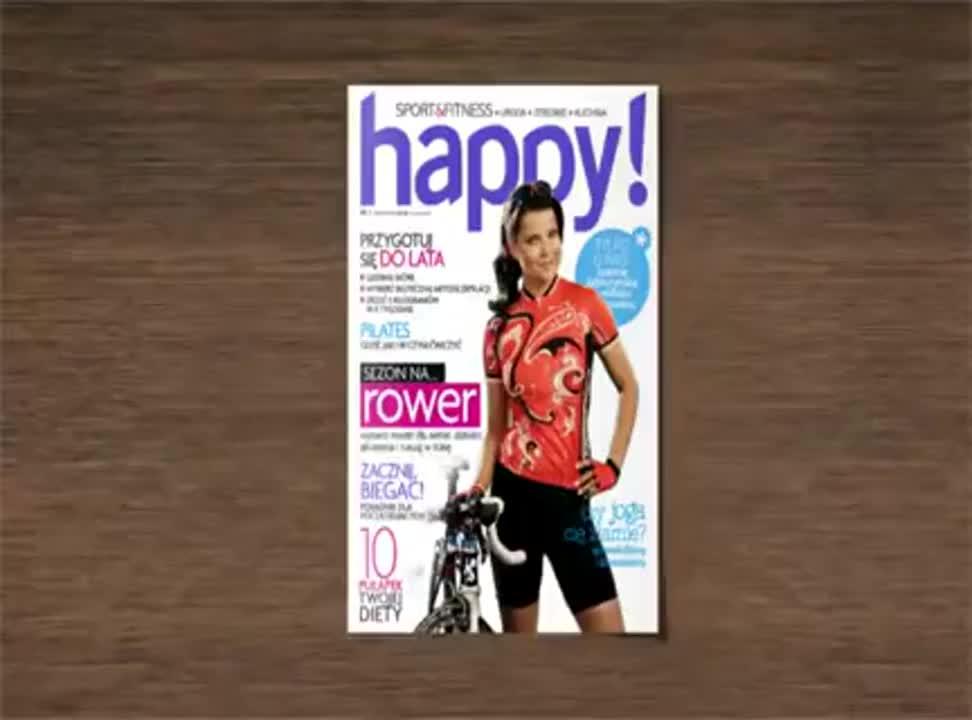 Happy - reklama z Joanna Jablczynska