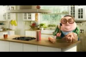 reklama Tesco z Heniem i swinka