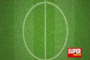 Super Express z plakatem kadry Smudy i przewodnikiem na Euro 2012