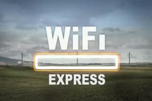 ING Bank Slaski - reklama Finansometru w WiFi Expressie