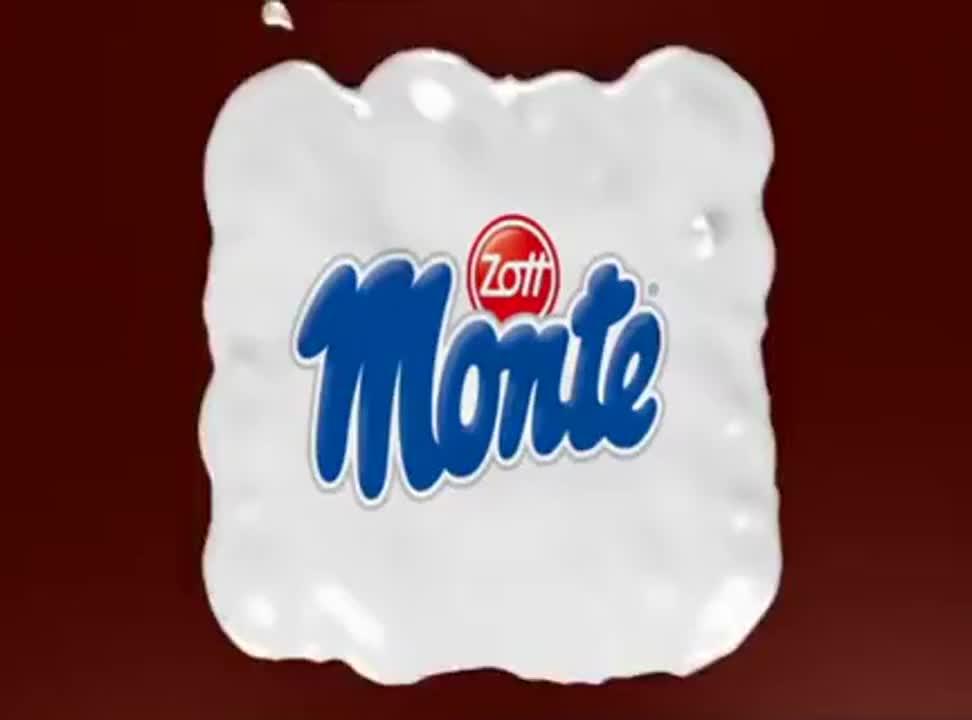 Zott Monte - reklama z Bartoszem Kurkiem