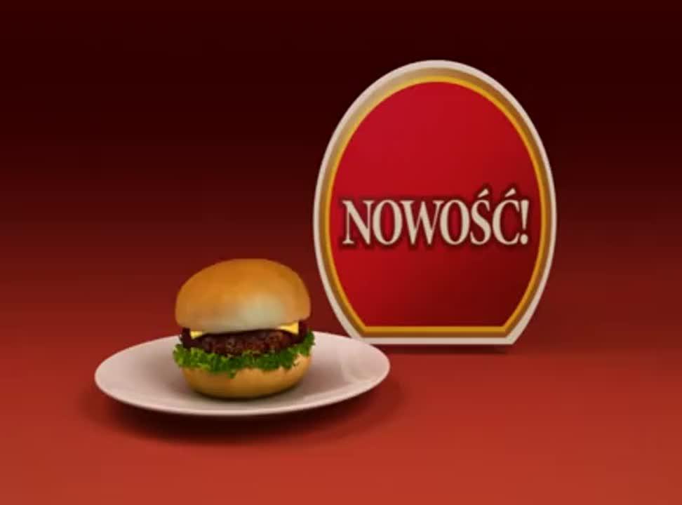 Heinz - reklama sosu hamburgerowego