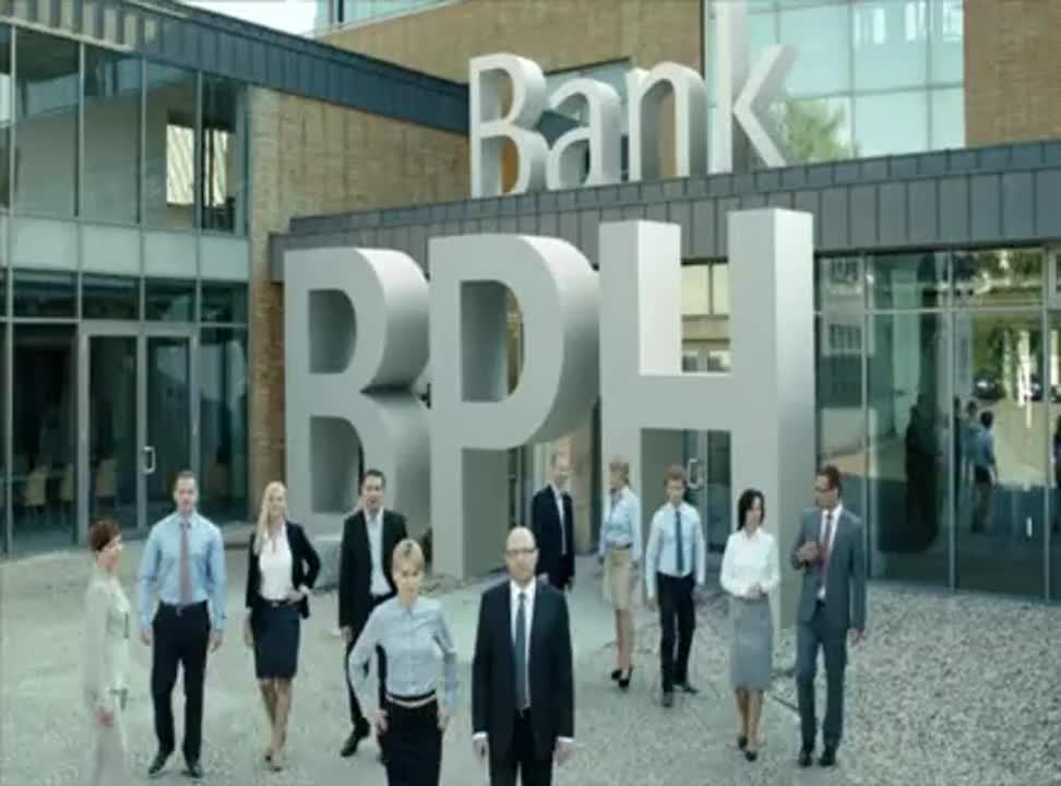 Bank BPH - reklama kredytu gotowkowego
