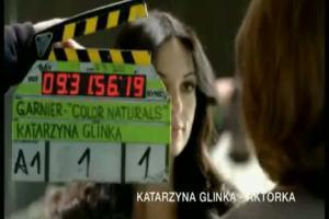 Garnier Color Naturals - reklama z Katarzyna Glinka
