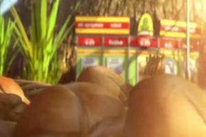 Zabka - reklama z pieczywem