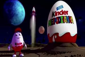 Kinder Niespodzianka - reklama z misja w kosmos