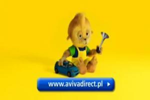 Aviva - reklama z Pikusiem i ukladem (2)