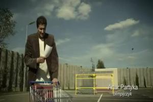kampania zywnosci ekologicznej - spot z Arturem Partyka