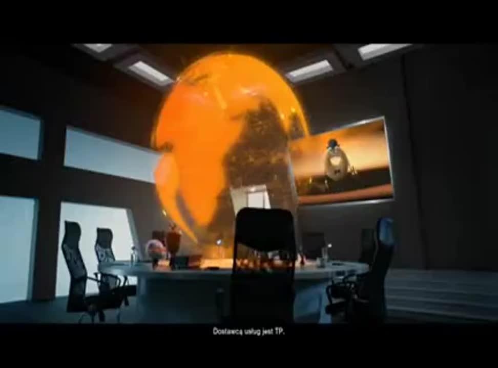 Orange - Neostrada i FunPack HD z tabletem FunTab - reklama z Sercem i Rozumem