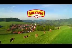reklama serów topionych Milkana