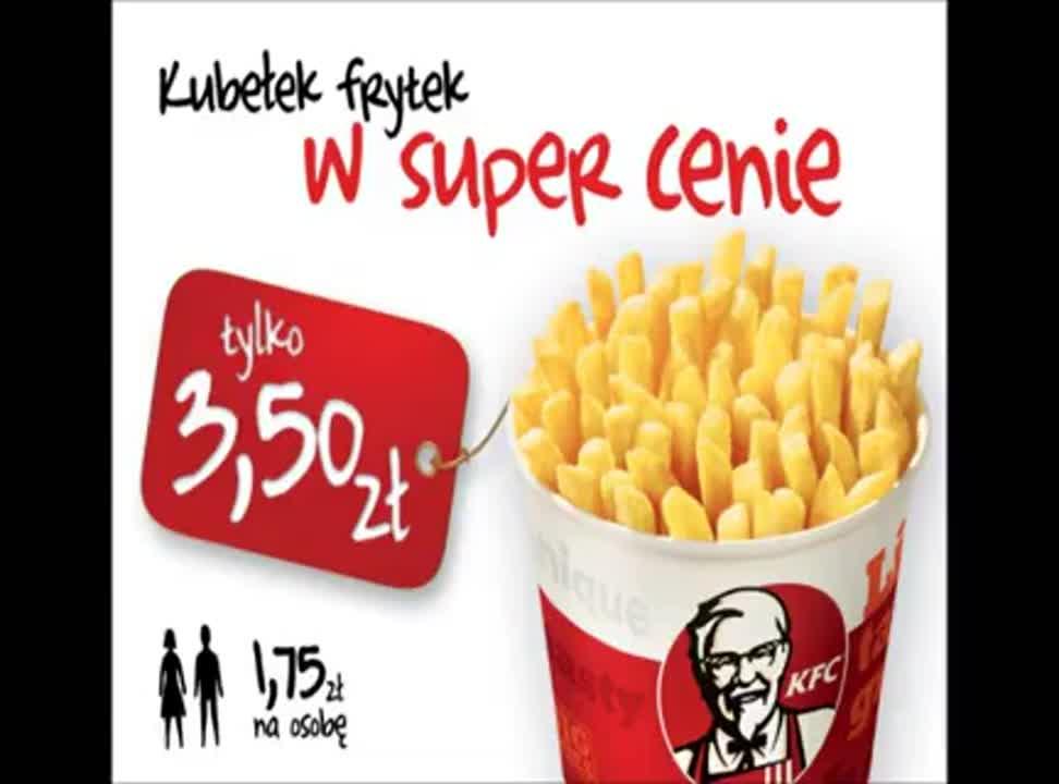 KFC - reklama kubelka frytek (2)