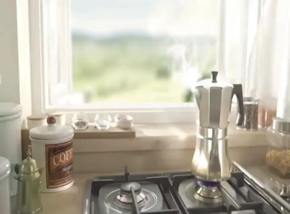 Śmietanka Łaciata do kawy - reklama