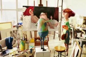 Henio jako malarz w nowej reklamie Tesco