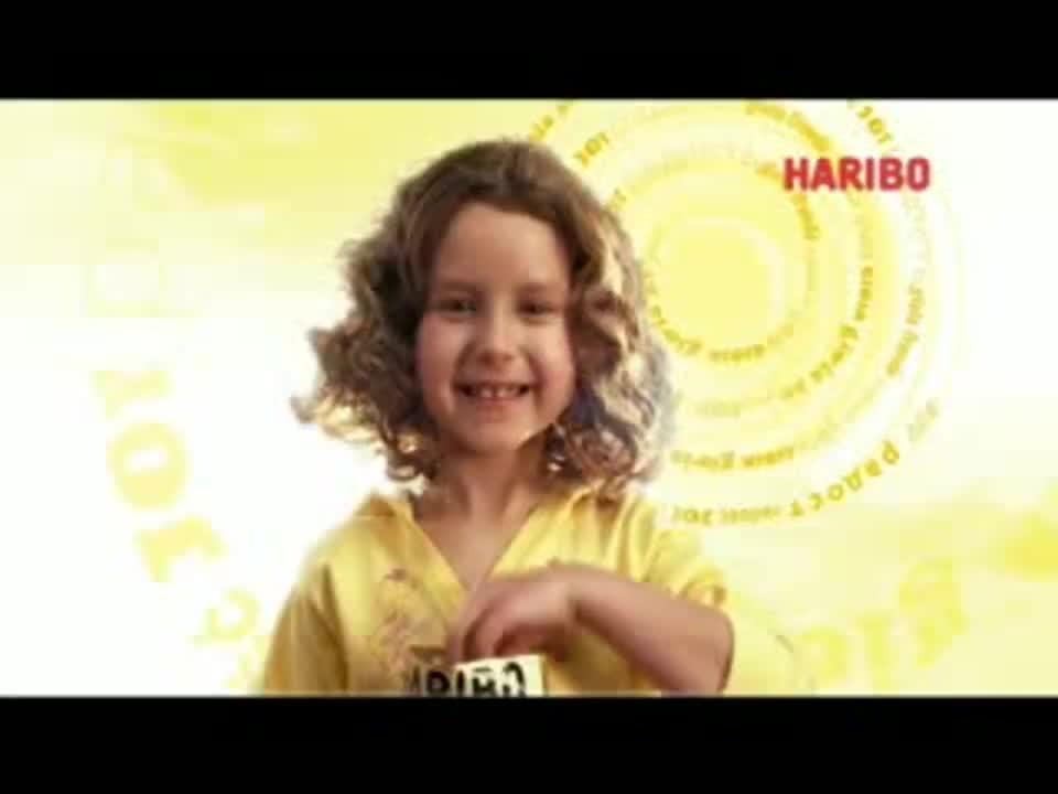 """Haribo reklamuje """"smak radości"""""""