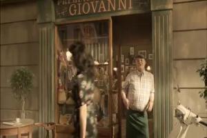 kabanosy Tarczyński - reklama z Włochem