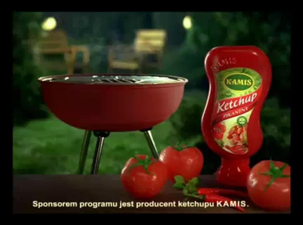 Grillowy Kamis sponsoruje seriale, sport i pogodę