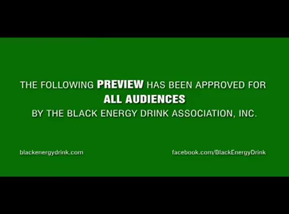 Mike Tyson jako pilot reklamuje Black Energy Drink - teaser