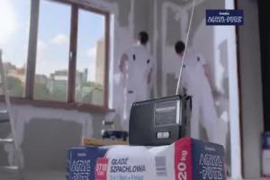 Mamed Khalidov w reklamie Acryl-Putz Śnieżki