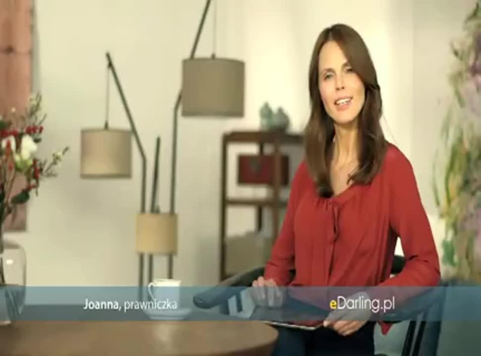 Prawniczka i architekt reklamują eDarling.pl (2)